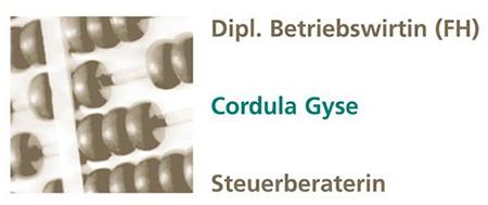 Steuerbüro Cordula Gyse